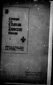 Catalogue of the Ch PDF