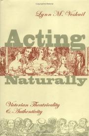 Acting naturally PDF