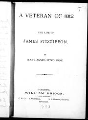 A veteran of 1812 by Mary Agnes FitzGibbon