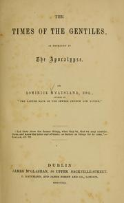 The times of the Gentiles, as revealed in the Apocalypse PDF