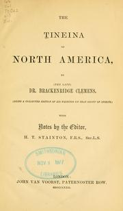 The Tineina of North America by Brackenridge Clemens