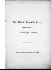 Our Atlantic steamship service PDF