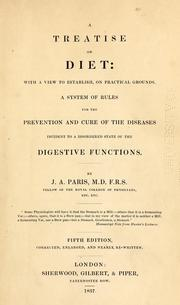 A treatise on diet by John Ayrton Paris