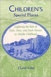 Children&#39;s special places by Sobel, David