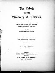 The Cabots and the discovery of America by Elizabeth Hodges