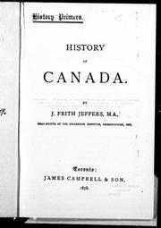 History of Canada PDF