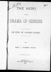The hero of the drama of Genesis PDF