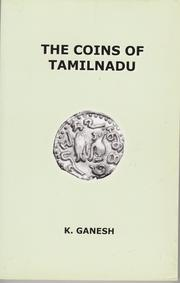 Cover of: The Coins of Tamilnadu by