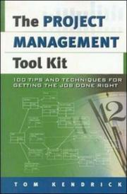 The project management tool kit PDF