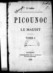 Picounoc le maudit by Pamphile Lemay