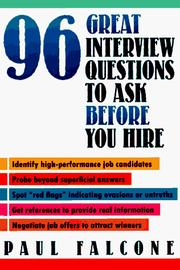 96 Great Interview Questions to Ask Before You Hire PDF