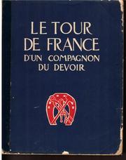 Le tour de France d'un compagnon du devoir PDF