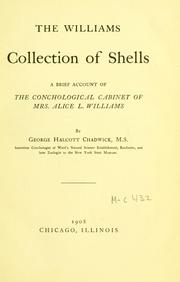 The Williams collection of shells PDF