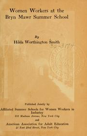 Women workers at the Bryn Mawr Summer School by Hilda Worthington Smith