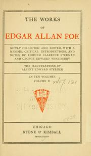 Cover of: The works of Edgar Allan Poe by Edgar Allan Poe