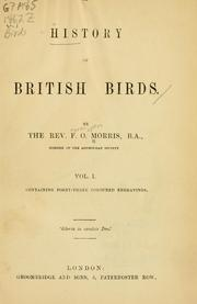 A history of British birds by F. O. Morris