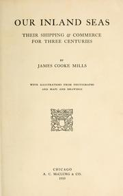 Our inland seas by James Cooke Mills