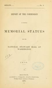 Report of the Commission to procure memorial statues for the national Statuary hall at Washington PDF