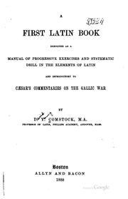 A first Latin book PDF
