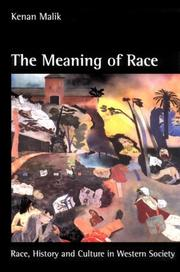 The meaning of race by Kenan Malik