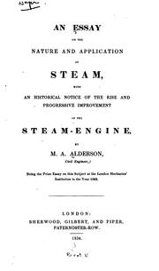 An essay on the nature and application of steam PDF