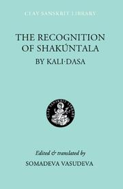 Cover of the recognition of shakuntala by kālidāsa