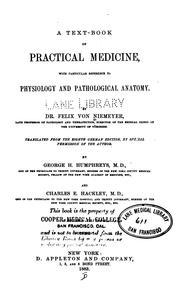 A text-book of practical medicine PDF