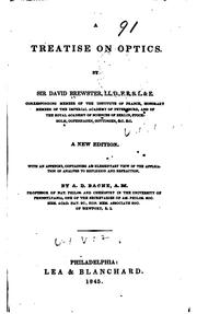 A treatise on optics by Brewster, David Sir
