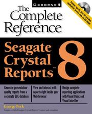 Seagate Crystal Reports 8 by Peck, George