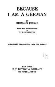 Because I am a German PDF