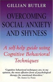 Overcoming social anxiety and shyness PDF
