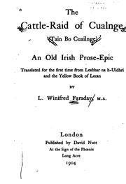 The cattle-raid of Cualnge (Tain bo Cuailgne) PDF