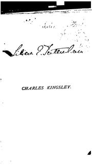 Charles Kingsley by Charles Kingsley
