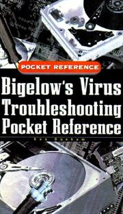 Bigelow's virus troubleshooting pocket reference PDF