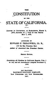 Constitution by California.
