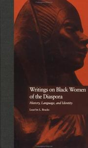 Writings on Black women of the diaspora by Lean'tin L. Bracks