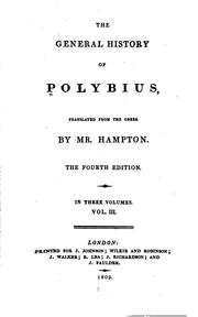 The histories by Polybius., Polybius