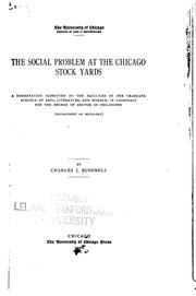 The social problem at the Chicago stock yards PDF