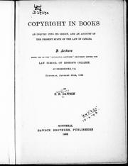 Copyright in books by Samuel Edward Dawson