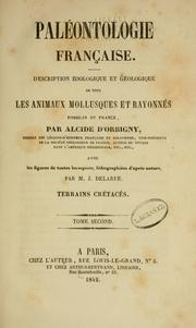 Paleontologie francaise by Alcide d&#39;Orbigny