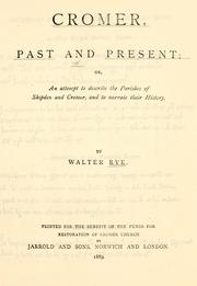 Cromer, past and present PDF