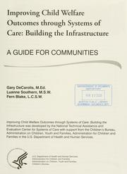 Improving child welfare outcomes through systems of care PDF
