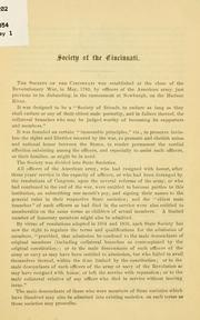 [History, by-laws and rules] PDF