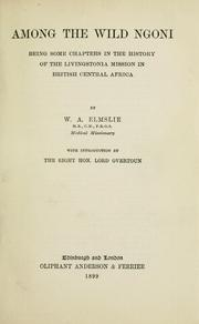 Among the wild Ngoni PDF
