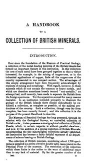 A Handbook to a Collection of the Minerals of the British Islands: Mostly Selected from the .. PDF