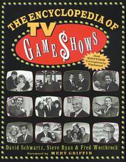 The encyclopedia of TV game shows by David Schwartz
