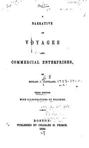 A Narrative of Voyages and Commercial Enterprises by Richard Jeffry Cleveland