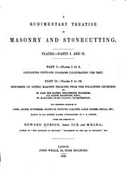 A Rudimentary Treatise on Masonry and Stonecutting: In which the Principles .. PDF