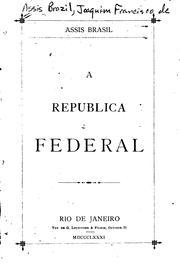 A republica federal PDF