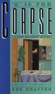 &quot;C&quot; is for corpse by Sue Grafton